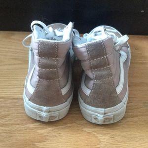 f13145cdcfabc Vans Shoes - Vans Sk8-Hi Fawn Mauve Womens Skate Shoes